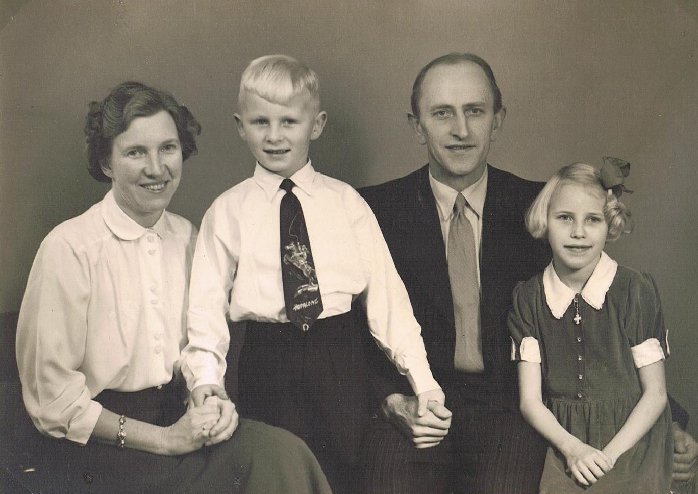 Album Familien på Hovvejen
