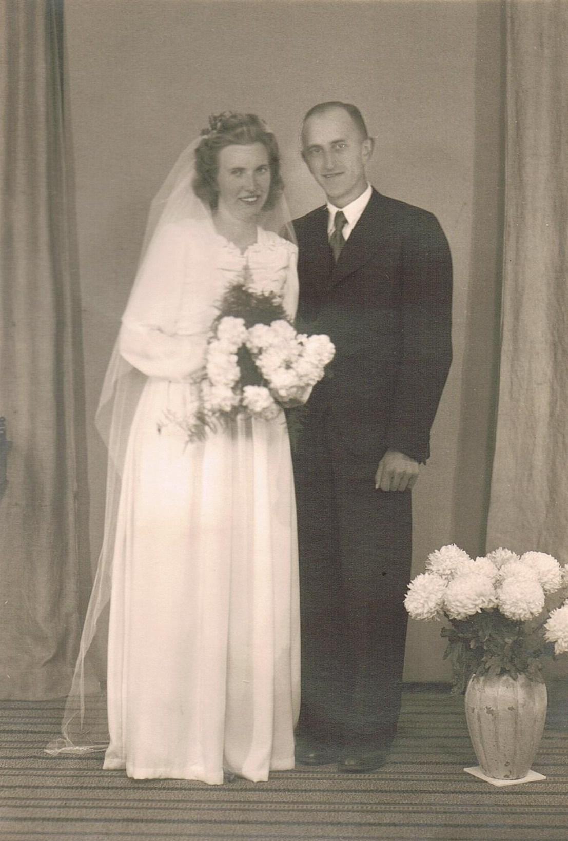 Album  Mor og fars bryllup