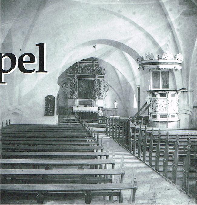 Asperup Kirke inde 1906