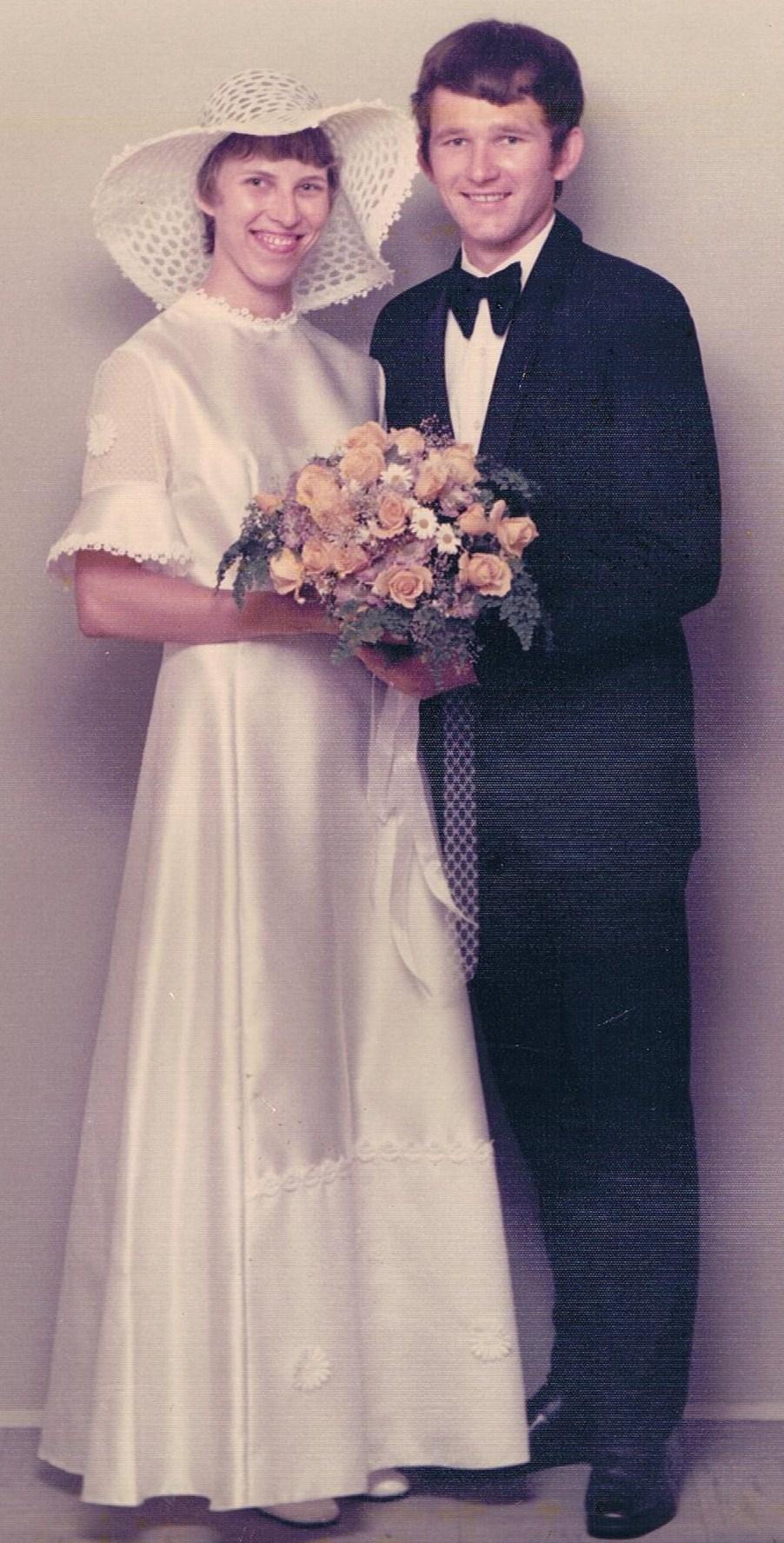 Brudebillede stående