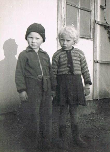 Fra fotoalbummet - Kamma og Svend