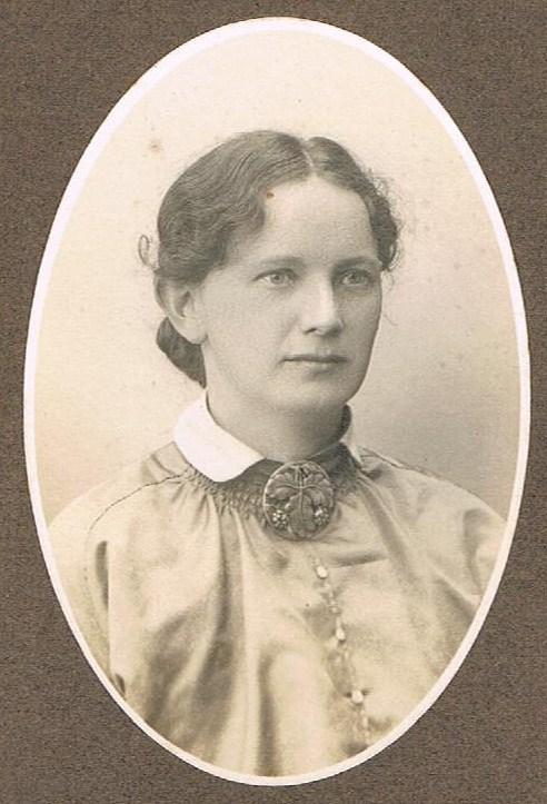 Karen Knudsen som nygift