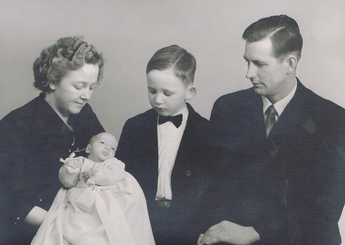 Kjelds familie til Annes barnedåb