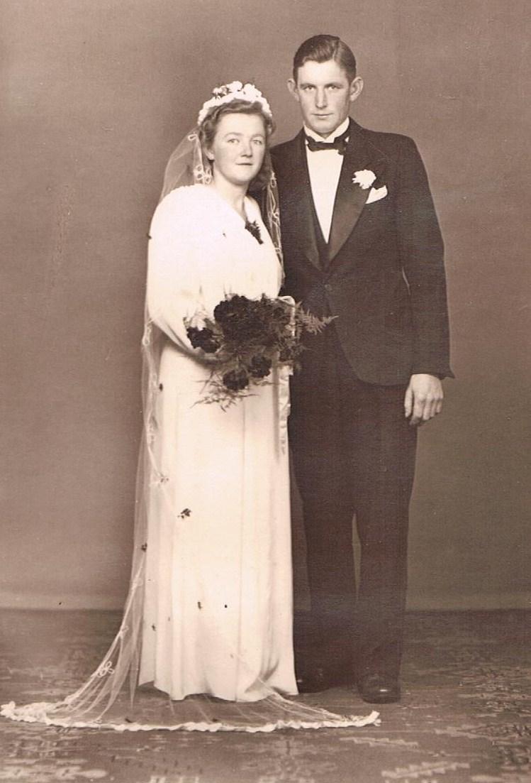 Kjelds far og mors bryllup