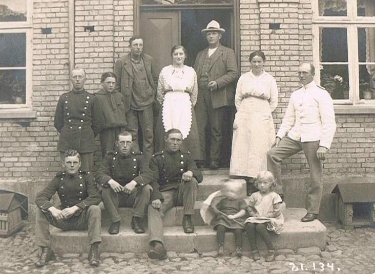 Soldater på besøg