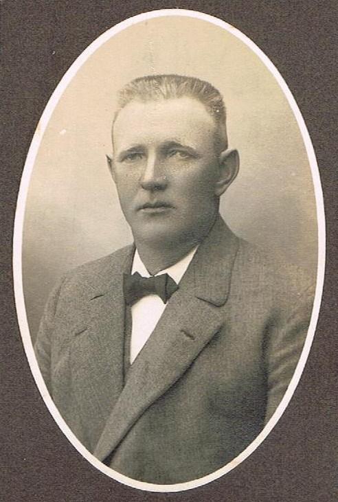 Svend Trøst Knudsen som nygift