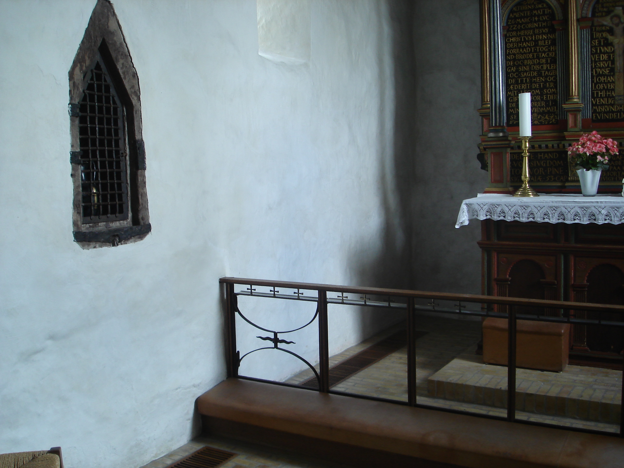DSC05831 Lågen til kollektskovlen Rud Kirke