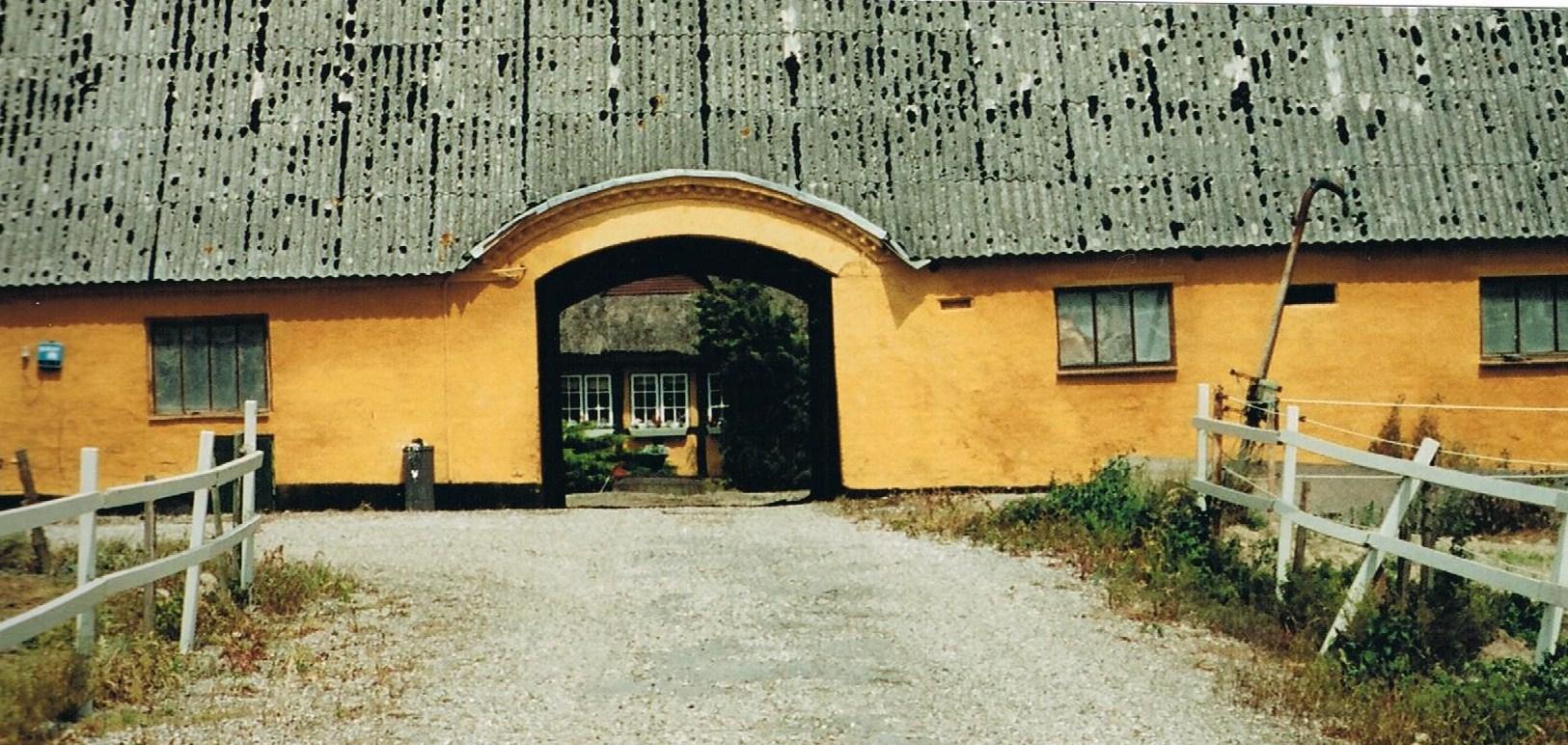 Den gamle gård i Bubel port