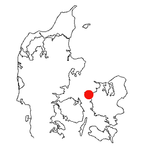 Kort med Kalundborg
