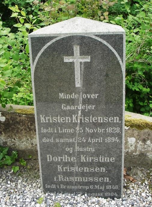 Kristen Kristensen og Dorthe Kirstines gravsted