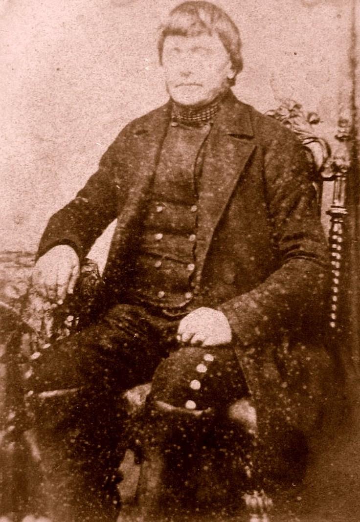 Rasmus Larsen i Bramstrup ca. 1875(?)